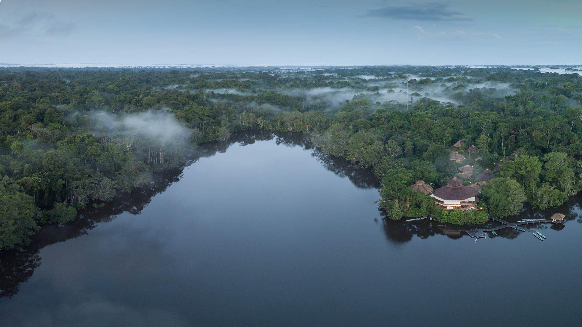 la selva lodge location