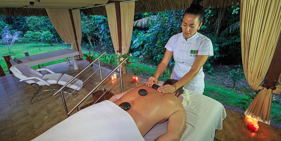 spa treatment at la selva