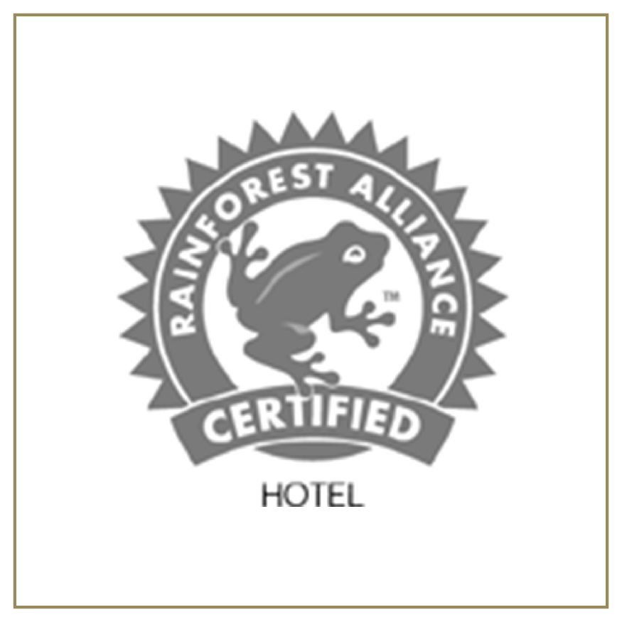 Rainforest Alliance Certified Hotel