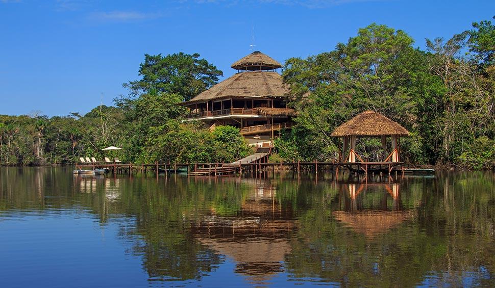 la selva lodge and garzacocha lake
