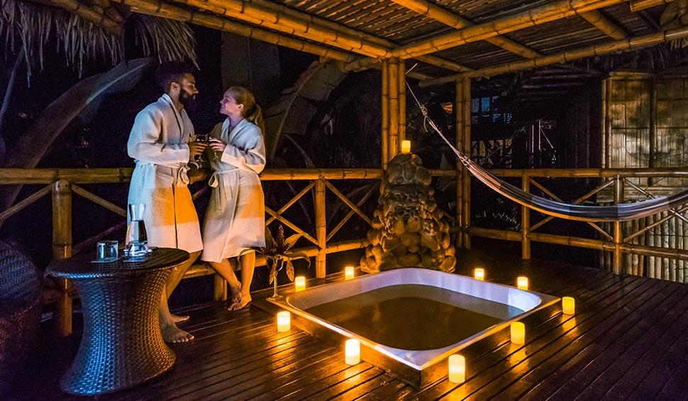 romantic stay at la selva lodge