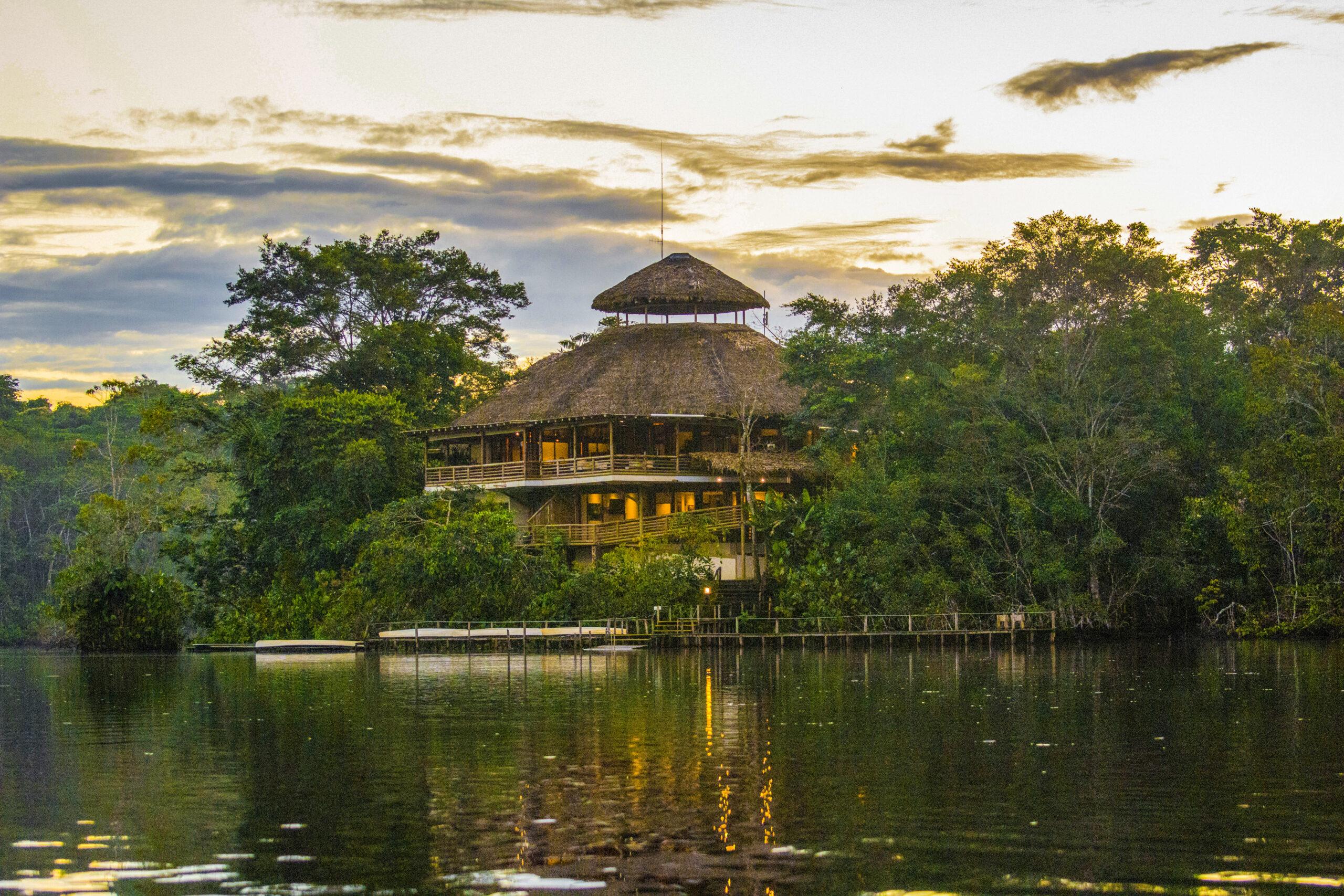La Selva Lodge Sunset